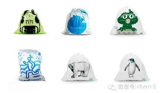 【组图】看看日本这些垃圾袋设计吧图片